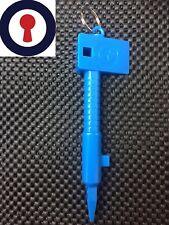 Euro Cylinder Multi Tool, Cam Turner, Measures Cylinder 1st p&p