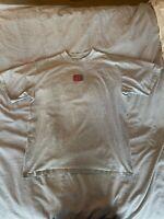 Billabong - X-Large, Short Sleeve, Gray Graphic Tee Shirt - Fast Shipping