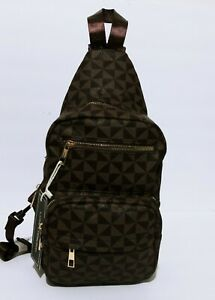 Designer Inspired Chest Bag Sling Crossbody Messenger Shoulder Backpack Day Pack