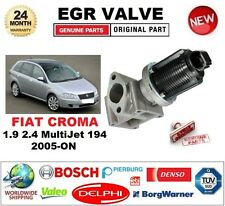 FOR FIAT CROMA 1.9 2.4 MultiJet 194 2005-ON EGR VALVE 2-PIN with GASKETS/SEALS