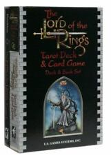 Lord of the Rings Hobbit Tarot Set 78 Card Deck Book Box Set GD free shipping