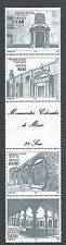 Mexico Sc #1303-1306 Colonial Monuments MNH strip of 4 stamps and label
