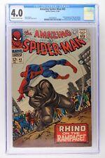 Amazing Spider-Man #43 - Marvel 1966 CGC 4.0 1st full Appearance of Mary Jane Wa