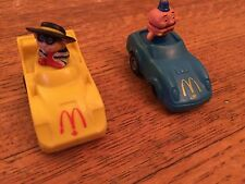 McDonald's Pull Back Happy Meal Toys. Good Condition.