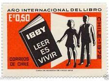 Chile 1972 #822 Año Internacional del Libro MNH