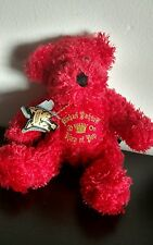 Michael Jackson This Is It Bear Concert Plush Doll King of PoP Red