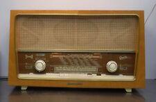 vintage 60s radio - GRAETZ Melodia M 818 Röhrenradio blondes Eschenholz  1959-60
