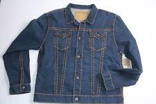 True Religion  Super T  Denim Jeans  Jacket Medium M  SLim Fit $348
