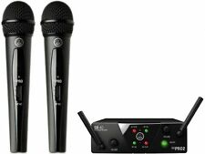 Double Microphone sans fil glace AKG WMS40 Pro Mini 2 Dual Vocal Ensemble