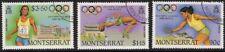MONTSERRAT SG753/5 1988 OLYMPICS FINE USED