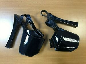Pleaser Sky Women's Platform Dance Heels Shoes High Heel XTC831 Black UK Size 5