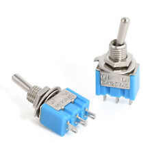 5Pcs AC ON/OFF SPDT 2 Position Latching Toggle Switch Hot Sale