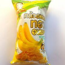 "50g.Thai Snack Butter Banana Chips ""Chainoi Brand"""