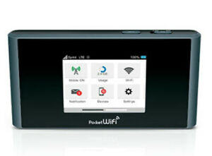 ZTE MF975 Pocket WiFi Sprint 4G Mobile WiFi Hotspot Router