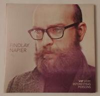 FINDLAY NAPIER - VIP: VERY INTERESTING PERSONS BRAND NEW  CD