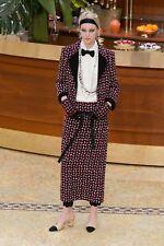 15A Chanel Wool Fantasy Tweed Jacket Blazer 36