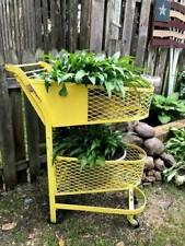 Vintage 1930's - 40's Double Basket Grocery Store Shopping Cart