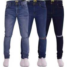 Ripped, Frayed Big & Tall Skinny, Slim Jeans for Men