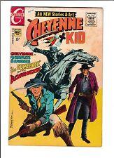 "CHEYENNE KID #84 [1971 VG]  ""THE COMEBACK"" & ""BUSHWHACKER"""