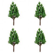 4 x Tabletop Wargames Scenery Terrain TREE 5-6cm tall