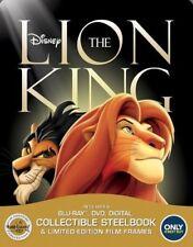 New Sealed The Lion King Steelbook Blu-ray Disc + DVD + Digital
