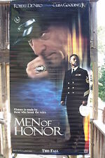 "MEN OF HONOR - Robert De Niro - Vinyl Movie Banner - 2000 SS C9 (60"" x 120"")"