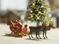 MU N-A00253 - Weihnachtsmann mit Schlitten - Spur N - NEU
