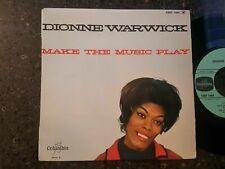 SOUL - DIONNE WARWICK - MAKE THE MUSIC PLAY - COLUMBIA - EP - FRANCE - LISTEN