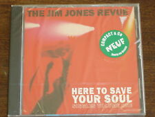 THE JIM JONES REVUE Here to save your soul- singles volume one CD NEUF