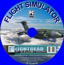 FlightGear PRO Aereo Simulatore di volo Inc 150+ velivoli di volare realistico SIM