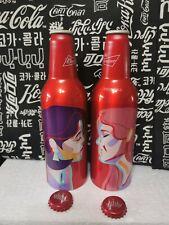 Rare China Budweiser beer Valentine's Day Aluminum bottle empty