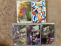 Graphic Novel Lot Power Girl Power Trip TBP SUPERBOY HC Batman Vol Joker 1 2 3