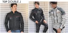 TUTA DIVISIBILE UOMO GIACCA + PANTALONI DA MOTO SCOOTER JOLLISPORT TOP DOUBLE J