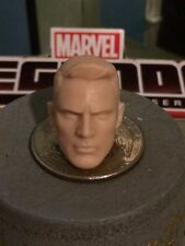 MARVEL LEGENDS MCU STEVE ROGERS CAP. AVENGERS HEAD CAST 1:12 FOR 6IN FIGURE