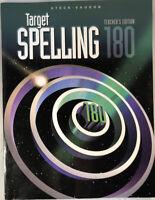 Steck Vaughn: Target Spelling 180 - Teacher's Edition