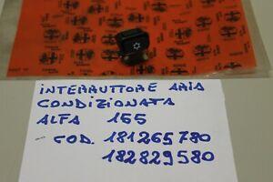 ALFA 155 INTERRUTTORE/PULSANTE ARIA CONDIZIONATA COD. 81265780-182829580