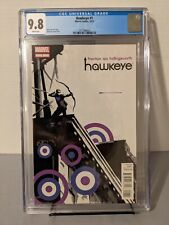 Hawkeye #1 (2012) CGC 9.8! 1st Print 1st App. of Lucky the Pizza Dog!