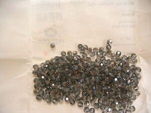 70 preciosa round crystal beads,6mm valentinite