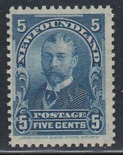 Newfoundland No. 85 Mint Never Hinged F-VF single