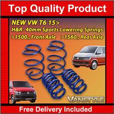 NEW VW T6 TRANSPORTER CARAVELLE 15> H&R LOWERING SPORTS SPRINGS 40MM KIT 29270-1