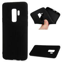 Black Slim Lightweight Soft TPU Silicone Gel Case Skin For Samsung Galaxy S9