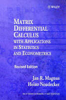 Matrix Differential Calculus with Applications in Statistics and Econometrics by