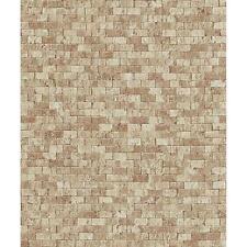 Erismann Stone Brick Wallpaper Embossed Faux Effect Realistic Motif Roll 6941-11