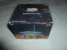 NEW IN BOX HOTWHEELS LIMITED SOJOURNER MARS ROVER 24K GOLD PLATED MODEL 17987 LE