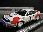 TOYOTA Celica GT4 Rallye Catalunya Spanien Spain 1992 #4 Sainz Repsol IXO 1:43