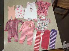 Size 000 - 0000 Baby Girls Bonds, Plum Baby OSH KOSH Items Mixed Bundle Bulk Lot