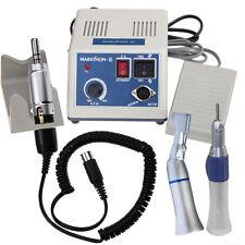 Dentaire Lab MARATHON micromoteur polisseur N3 with 2x Low Slow Speed Handpiece