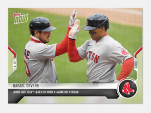 Rafael Devers - 2021 MLB TOPPS NOW® Card 69 - PRESALE