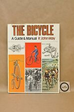 Vtg 1974 The Bicycle Bike Maintenance Service Manual Guide HC Book By Way