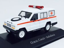 Gurgel Carajas Ambulance Brazil Rare Diecast Scale 1:43 New With Stand